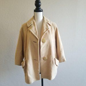 The Hecht Co. Vintage wool peacoat